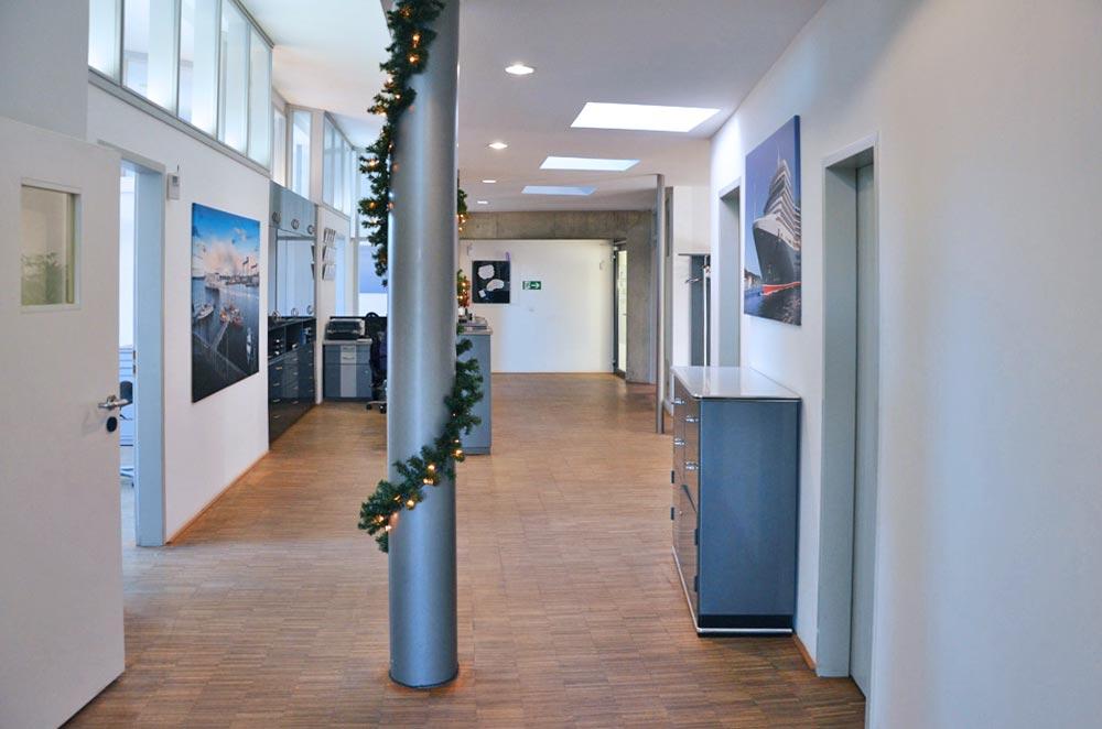 Räumlichkeiten der Zahnarztpraxis in Kiel